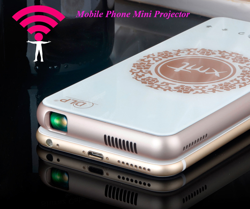 Latest Mobile Phone LED Pocket Full HD Mini Theater Home Projector