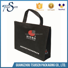 matt lamination image black non woven bag