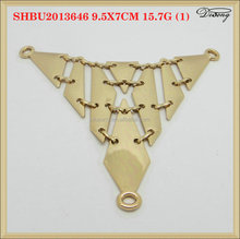 SHBU2013646 gold fashion sandal shoe chain