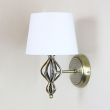 Hot Sale Bedroom Hotel Antique Style Iron Brass Wall Lamp