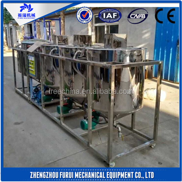 High efficient oil refining machine/oil refinery machine/crude oil refinery for sale