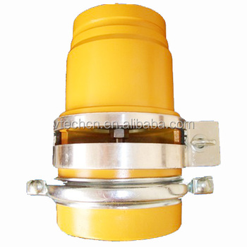 3 or 4 inches gravity drop valves for water truck,Pneumatic Control ,aluminum die casting