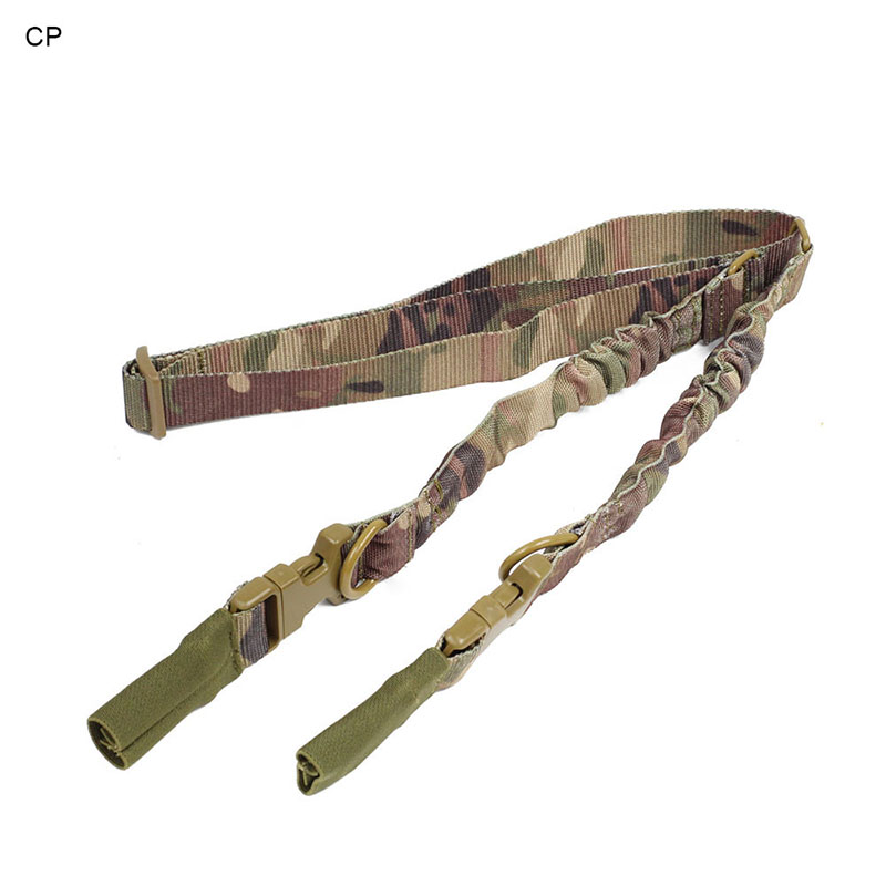 13-0054 Manufactory Nylon Metal Pistol Gun Sling Adjustment Military Style USA Army Airsoft AK 2 Points Rifle Sling