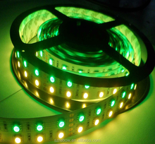 CE&RoHs approved 12v 24v 5050 RGBW 120pics/m color changing led strip lighting, CRI>90 led tape,strips led lights from China