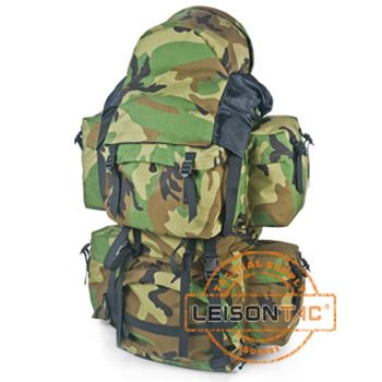 Military Backpack with 1000D high strength waterproof and flame retardant Cordura or nylon material for army