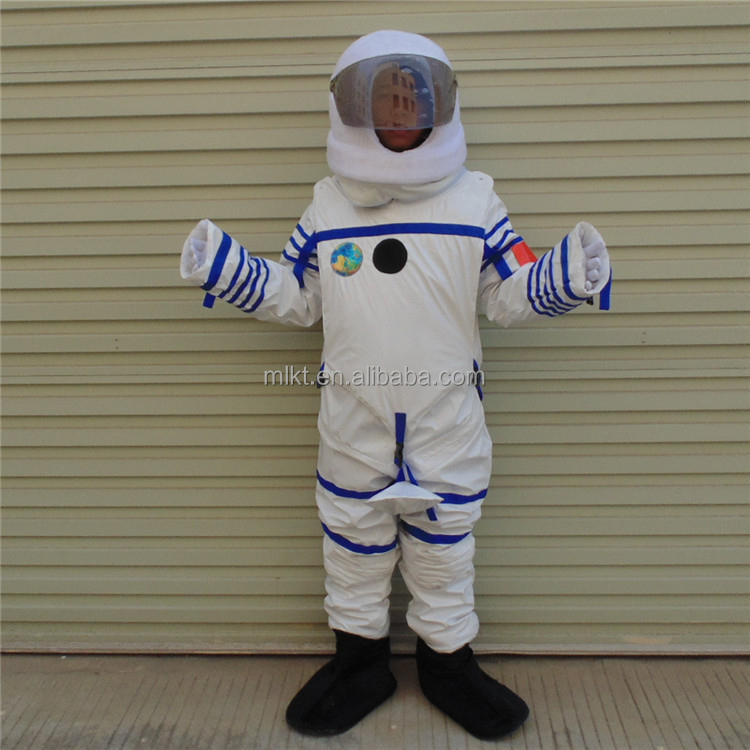 Game playing adult size customized astronaut mascot costume