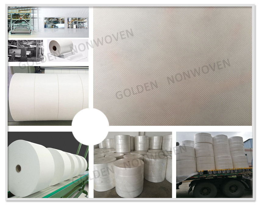 best price100% pet nonwoven fabric