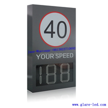 Radar Speed Limit Sign With standard Bracket Outdoor Support LED Car Speed Measurement Display