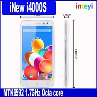 Wholesale Price iNew I4000S MTK6592 1.7GHz Octa core Android 4.2 5.0 inch FHD OGS IPS 13MP HD Camera RAM 2G ROM 16G UMTS/3G