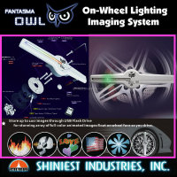 2015 Lighting Product Fantasma OWL WL-1502R & WL-1702R programmable on wheel animation image picture trim LED WHEEL LIGHT