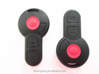 3+1 button remote key shell for Volkswagan CABRIOLET car remote key case