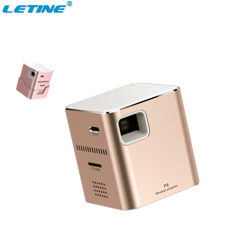 Outdoor Portable Pocket Home Theater Led Smart Bluetooth Android Mobile Wireless Wifi Mini Projector with 4K Full Hd 1080P