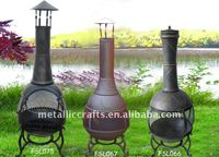 360 Degree Cast Iron Chiminea