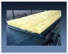 Glass wool matts for heat insulation