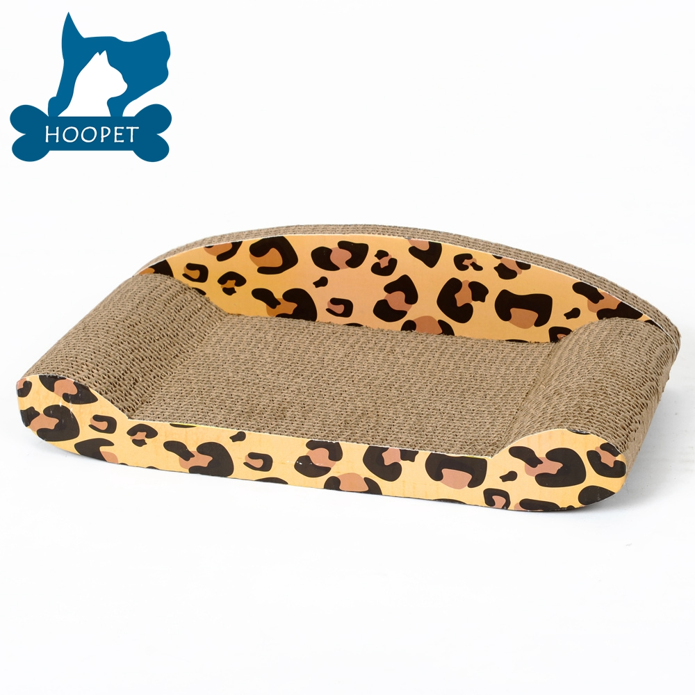 Wholesale Pet Toy Product Corrugated indoor Cat House Cardboard Cat Scratcher