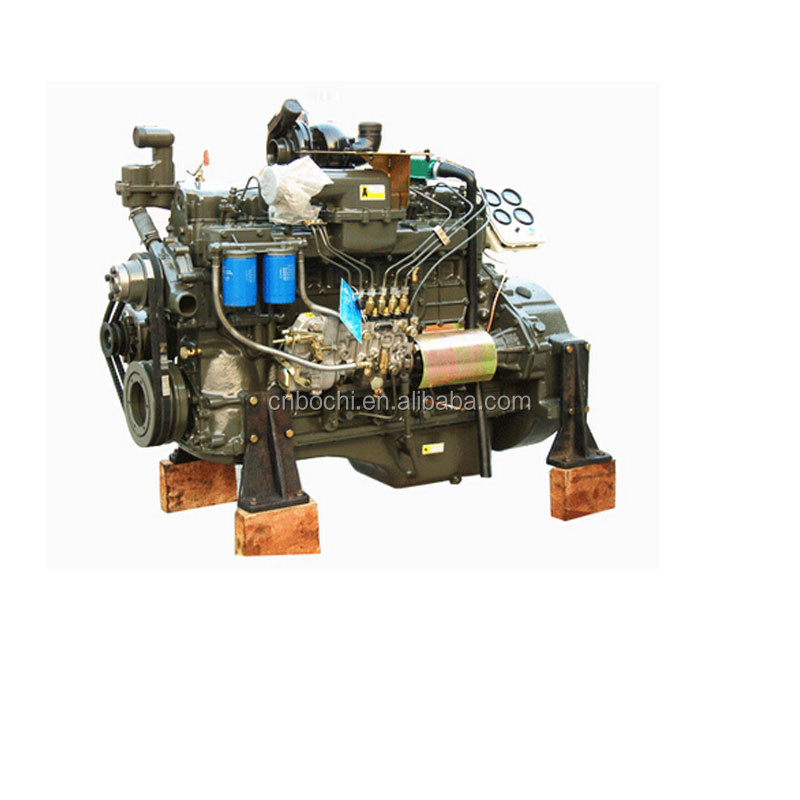 Marine diesel engine with gearbox for sale