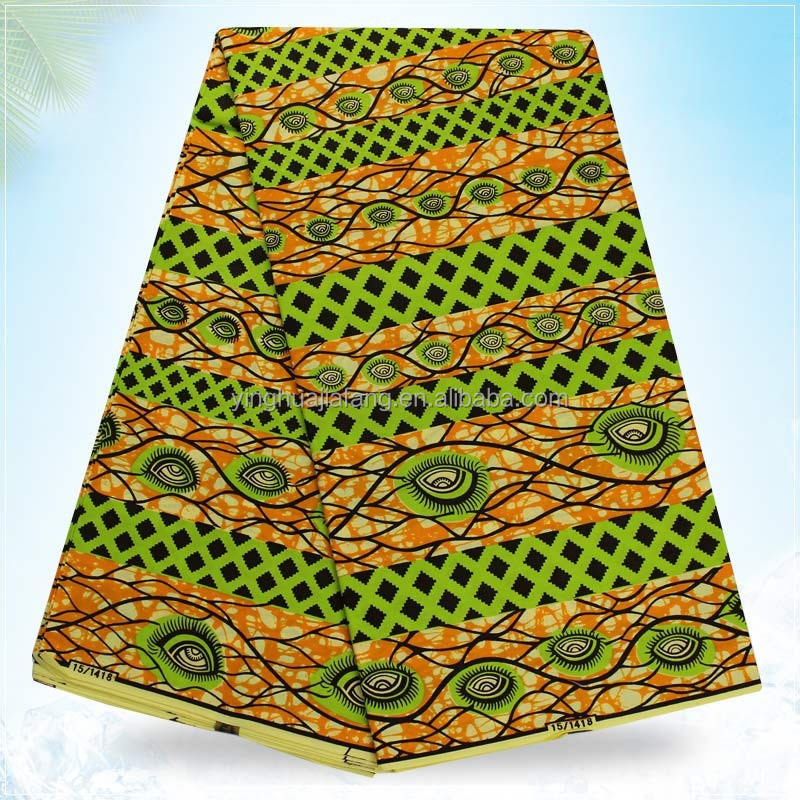 2016 best selling products and high quality 100% 24*24 cotton holland wax african printed fabric