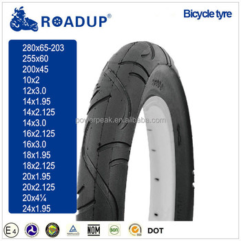 Bicycle tyre tire size 14x3 14x2