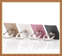 2016 china wholesale lovely heart anti drop mobile phone ring holder with diamond