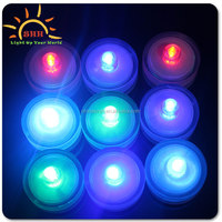 2015 Battery-powered Floral Shape Waterproof LED Tea Light,Innovative LED Submersible Tea Light Candles