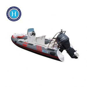 CE Approved Luxury Inflatable Boat Fiberglass Fishing Yacht