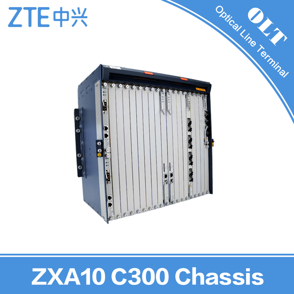 GPON EPON OLT ZTE ZXA10 C300 C320 Chassis Mobile PON 10GE SFP ZTE ZXA10 C300 Chassis