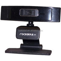 ROCKSOUL Webcam 1080P HD USB Web Camera with Microphone for Game PC Accessory