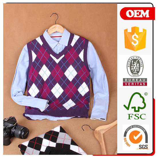 JP 2016 Alibaba New Fashion High Quality Latest Vest Man Cashmere Sweater Designs For Men