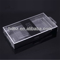 hot selling Mobile phone case packaging plastic box, custom logo