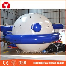 Water park inflatable buoy saturn inflatable water games for sale