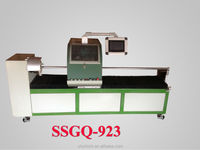 Factory automatic 0.45mm garment fabric interlining100m/coil strip cutting machine