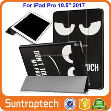 Lovers Eiffel Tower Ultra Slim Tri-Fold Smart Cover Leather Case W/ Auto Wake Sleep for Apple iPad Pro 10.5 2017 IP1052017C02