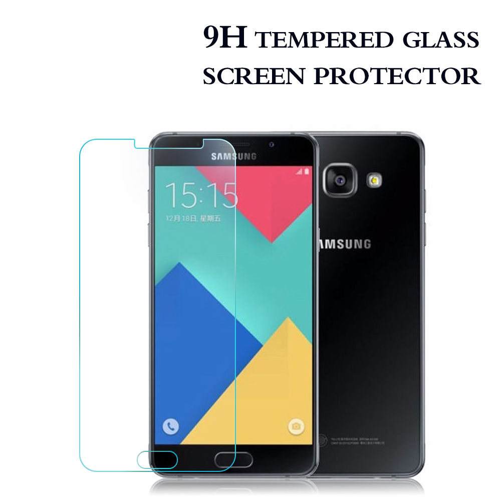 Top Quality !! Best Screen Protector for Samsung A5 2016 tempered glass for Samsung A5 phone screen protector