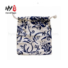 New material small drawstring linen jewelry bag