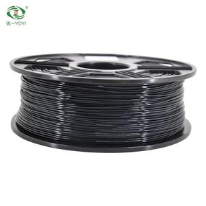 Guandong manufactory abs pla 1.75/3mm filament/ plastic rod with high quality