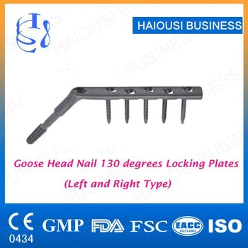 DHS DCS Goose Head locking plate Price