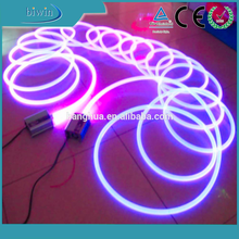 Underwater 12/14mm solid core side glow fiber optic cable light