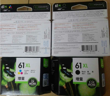 For HP Printer Original Genuine 61 Black / Color Ink Cartridge CH561WA CH562WA 61XL CH563WA CH564WA