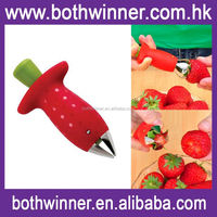 Kitchen strawberry huller ,H0T161 manual potato chipper for sale