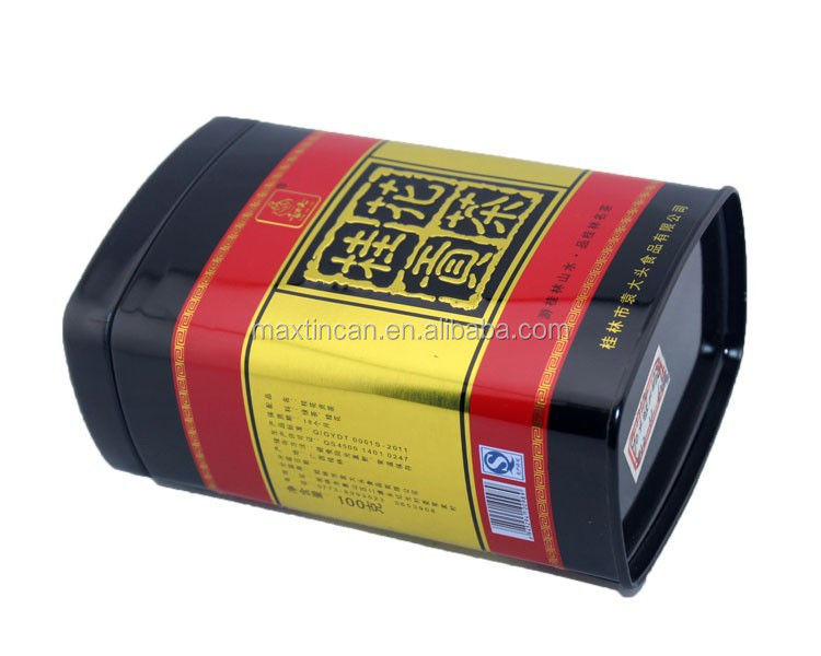 custom printing tins coffee metal cans tea cans