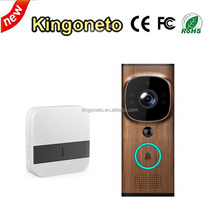 Wifi Wireless Doorbell With HD Security Camera PIR Motion Detection work with iOS & Android App