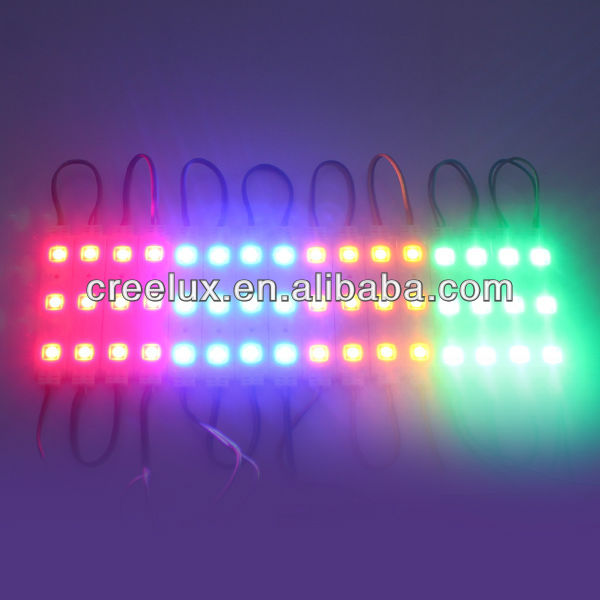 3 led smd 3528 5050 abs injection led modules waterproof ip65 12v