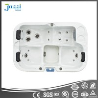 JAZZI Massage Spa Reversible Drain Location and Freestanding Installation SKT335E