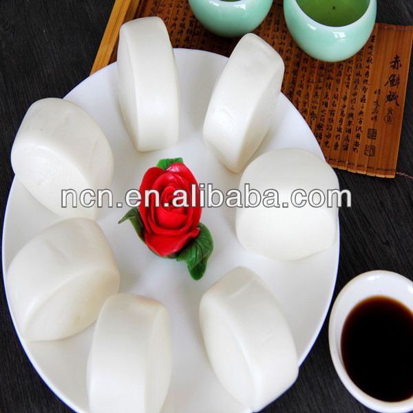 Authentic Asian grocery products Quick Frozen Milk Steamed Bread Bun