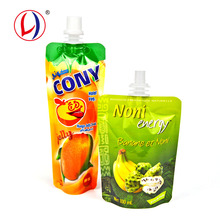 China Factory Portable Drink Screw Cap Pouch Eco Friendly Bags For Food Packaging