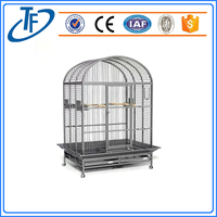 Chinese Wholesale New Design Large Metal Wire Mesh Bird Cage