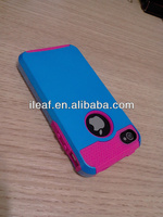 Hybrid Rubber Rugged Combo Matte Soft Cases Hard Cover For Apple iPhone 4 4S