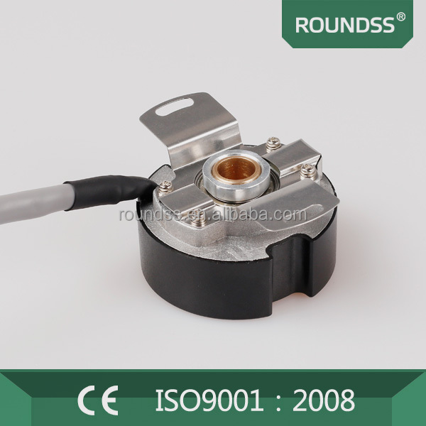 Roundss ultra thin incremental encoder optical speed motor encoders dc motor with encoder