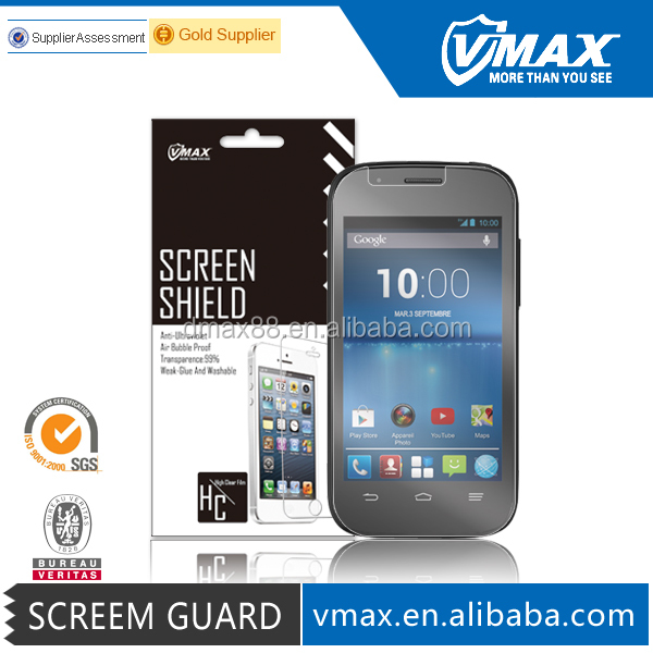 Free Sample ! waterproof projection anti-glare screen film for ZTE Nubia Z7 welcome oem/odm