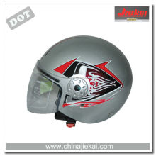DOT approval motorcycle parts open face helmet